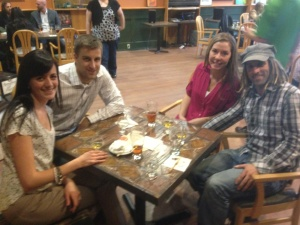 L to R: Lindsay Crickard, Mike Crickard, Ashley Jackson & Richard Simoneau