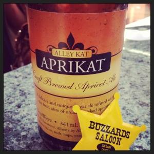 Alleykat Aprikat-Refreshing summer fruit beer!