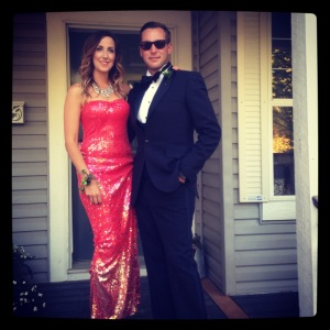 Me and my husband/date to the Eddies!