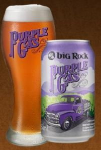 Big Rock Brewery-Purple Gas (photo credit-Big Rock's website)